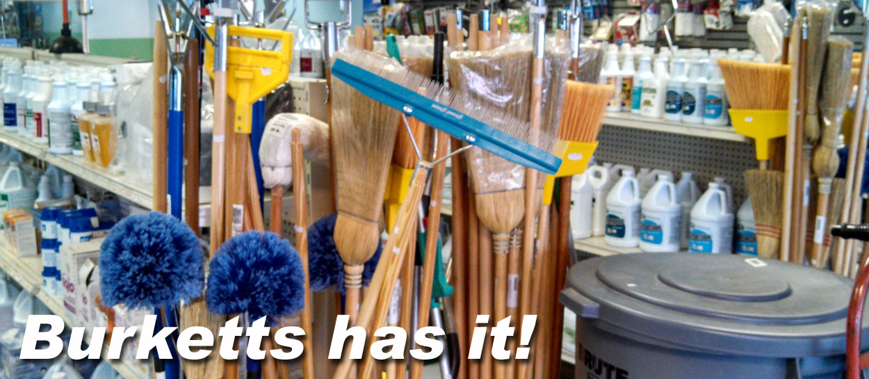 burketts janitorial supplies