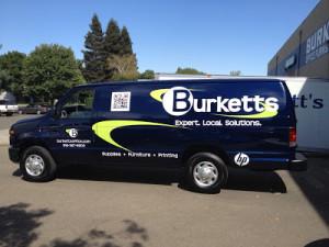 Burkett's delivery